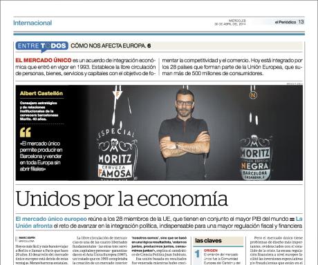 Reportaje publicado en El Periódico de Catalunya el 30 de abril del 2014 // Marc Espín