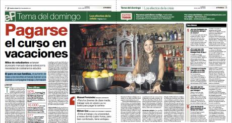 Reportaje publicado en El Periódico de Catalunya el 29 de junio del 2014 // Marc Espín