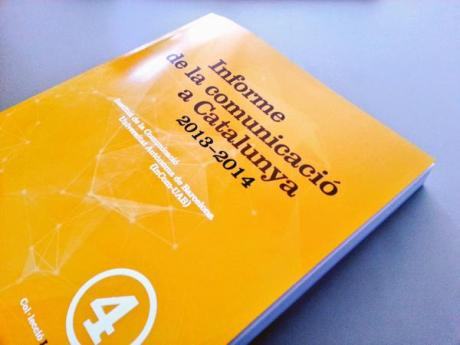 Portada Informe de la Comunicacio a Catalunya 2013-2014