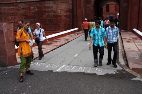 Fuerte Rojo en Nueva Delhi (India, 2011)